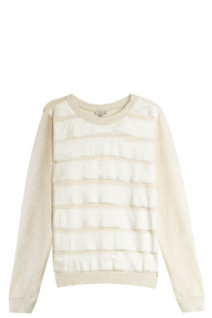Clu Women`s Silk Panelled Sweater Boutique1