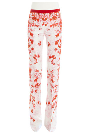 Giambattista Valli Women`s Silk Printed Trousers Boutique1