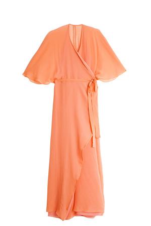 Paul Joe Women`s Silk Wrap Gown Boutique1