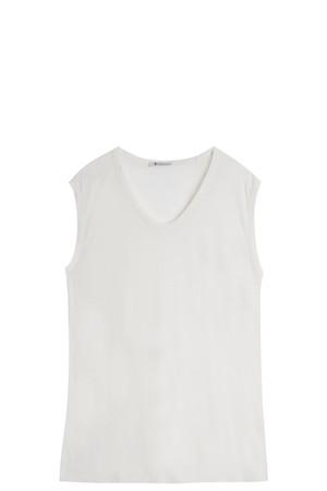 T By Alexander Wang Women`s Slub Classic T-shirt Boutique1
