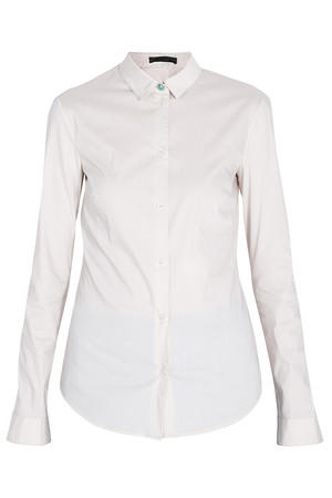 The Row Women`s Small Collar Stretch Shirt Boutique1