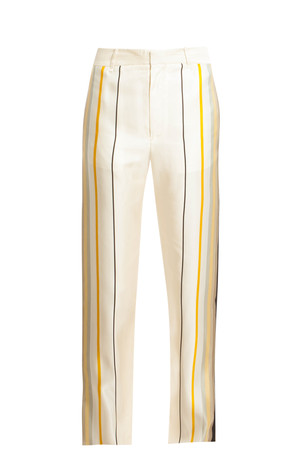 Rag Bone Women`s Smith Silk Trousers Boutique1