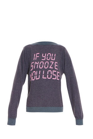 Wildfox Women`s Snooze Sweater Boutique1