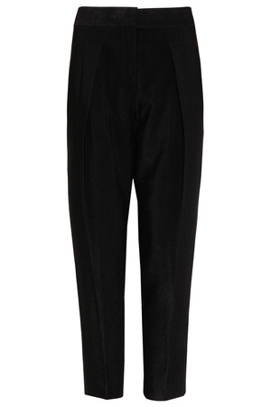 Alexander Wang Women`s Stingray Cigarette Leg Crepe Trousers Boutique1