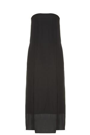 Raquel Allegra Women`s Strapless Maxi Dress Boutique1