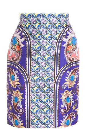 Mary Katrantzou Women`s Stretch Pencil Skirt Boutique1