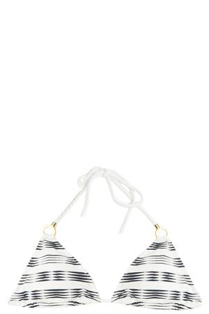 Heidi Klein Women`s Stripe Bikini Top Boutique1