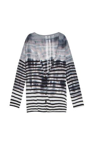 Raquel Allegra Women`s Stripe Cardigan Boutique1
