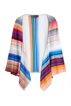 Missoni Women`s Stripe Knit Shawl Boutique1
