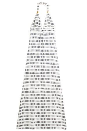 Heidi Klein Women`s Stripe Maxi Dress Boutique1