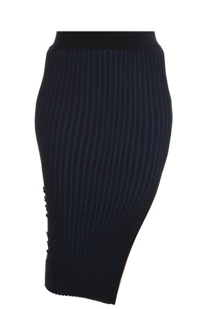 Opening Ceremony Women`s Stripe Pencil Skirt Boutique1
