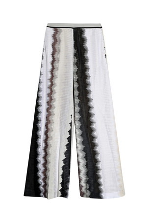 Missoni Women`s Stripe Wide Leg Trousers Boutique1