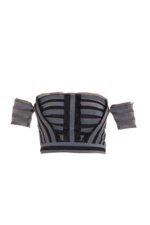 Erdem Women`s Striped Crop Top Boutique1