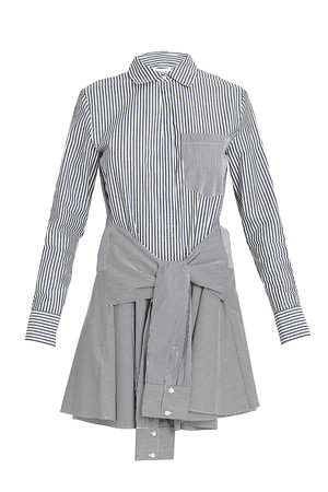 Derek Lam 10 Crosby Women`s Striped Dress Boutique1