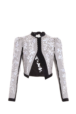 Erdem Women`s Striped Jacket Boutique1