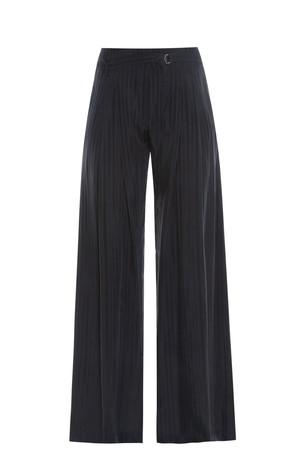 Raquel Allegra Women`s Striped Palazzo Trousers Boutique1