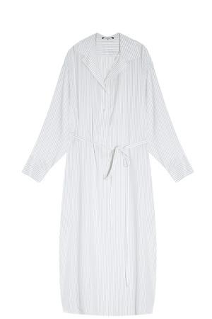 The Row Women`s Striped Shirt Dress Boutique1