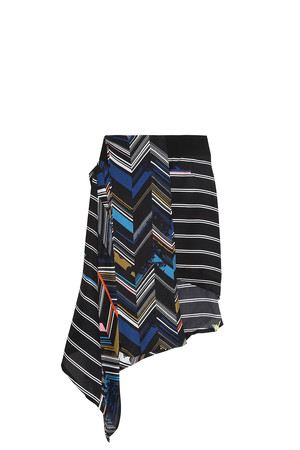 Preen By Thornton Bregazzi Women`s Striped Skirt Boutique1