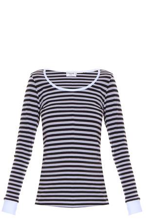 Frame Denim Women`s Striped T-shirt Boutique1