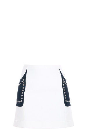 Giambattista Valli Women`s Studded Skirt Boutique1