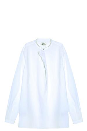 Acne Studios Men`s Stune Collarless Shirt Boutique1