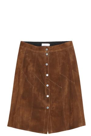 A.l.c. Women`s Suede Skirt Boutique1