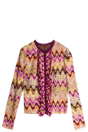 Missoni Women`s Swirl Cardigan Boutique1