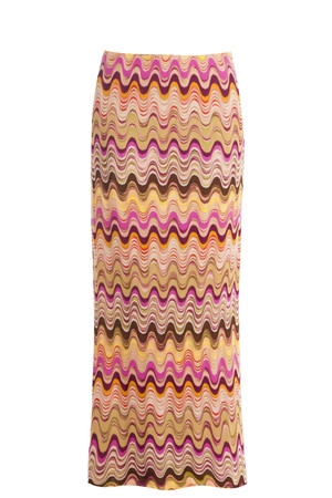 Missoni Women`s Swirl Maxi Skirt Boutique1