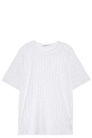 T By Alexander Wang Women`s Cut-out T-shirt Boutique1