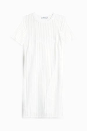 T By Alexander Wang Women`s Jacquard Dress Boutique1