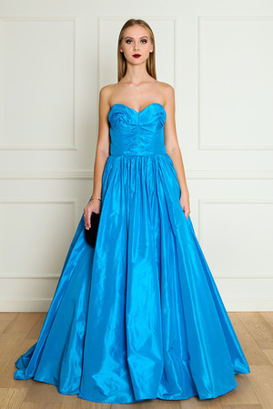 Oscar De La Renta Women`s Taffeta Gown Boutique1