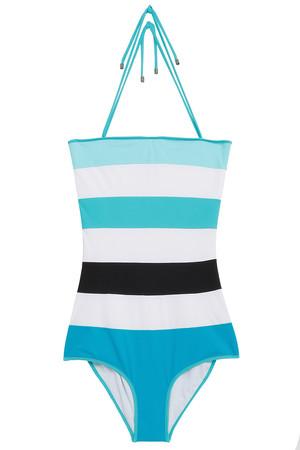 Roksanda Women`s Talia Stripe Strapless 1piece Boutique1