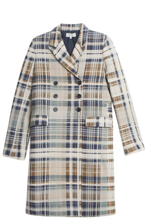Paul Joe Women`s Tartan Coat Boutique1