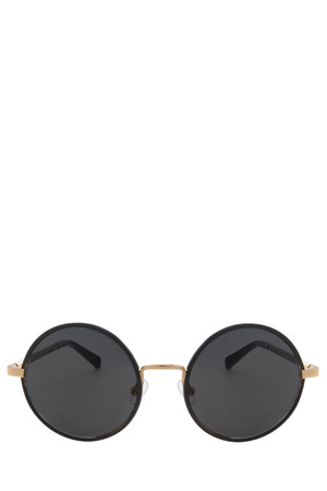 The Row Women`s Leather Sunglasses Boutique1