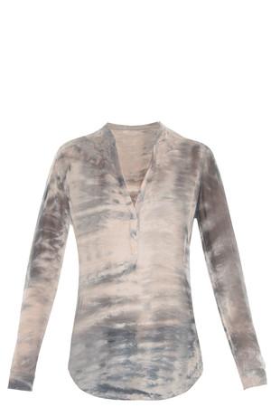 Raquel Allegra Women`s Tie Dye Blouse Boutique1