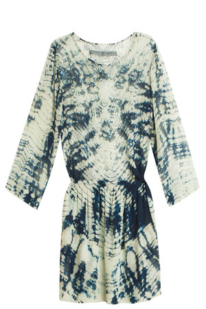 Raquel Allegra Women`s Tie Dye Silk Dress Boutique1