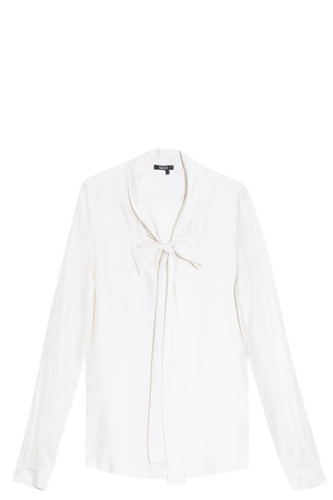 Raoul Women`s Tie Neck Blouse Boutique1