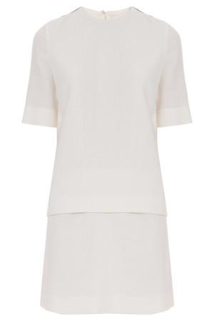 Victoria, Victoria Beckham Women`s Tux Stripe Mini Dress Boutique1