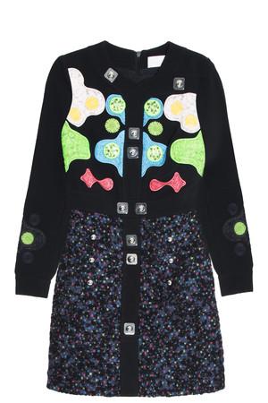 Peter Pilotto Women`s Tweed Dress Boutique1