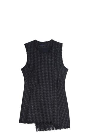 Proenza Schouler Women`s Tweed Waistcoat Boutique1