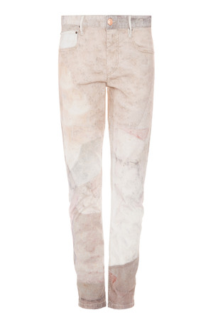 Isabel Marant Women`s Valone Printed Jeans Boutique1