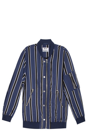 Acne Studios Women`s Varden Striped Jacket Boutique1