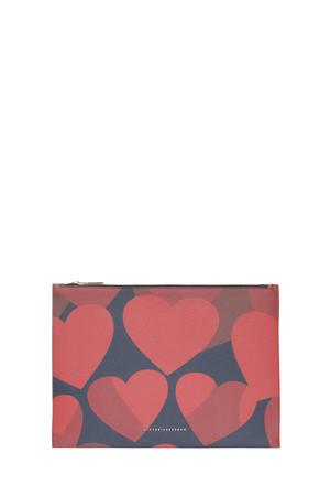 Victoria Beckham Women`s Large Simple Hearts Pouch Boutique1