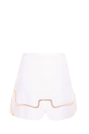 Victoria, Victoria Beckham Women`s Wave Mini Skirt Boutique1