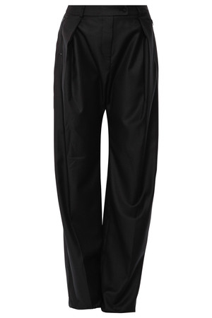 Preen By Thornton Bregazzi Women`s Wide Leg Wool Pants Boutique1