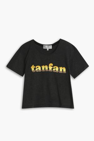 Wildfox Women`s Tan Fan T-shirt Boutique1