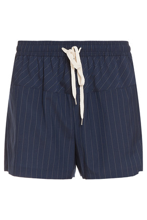 Alexander Wang Women`s Wool Pinstripe Shorts Boutique1