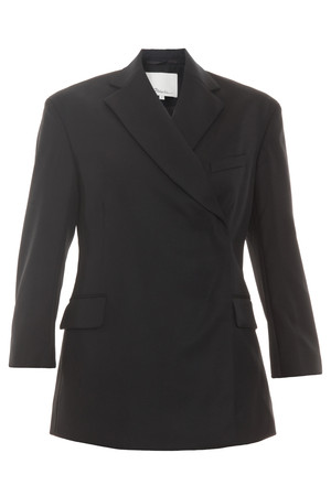 3.1 Phillip Lim Women`s Wrap Over Blazer Boutique1