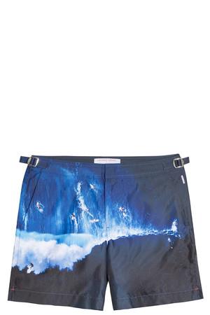 Orlebar Brown Men`s X Alex Maclean Bulldog Swim Shorts Boutique1