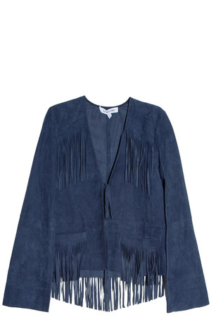Elizabeth And James Women`s Zadeh Suede Jacket Boutique1